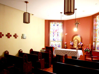 Daily Mass The Leo House Chapel