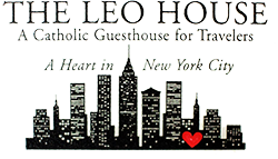 The Leo House Logo - A Heart in NYC