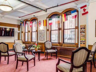 Lobby | The Leo House | NYC Hotel