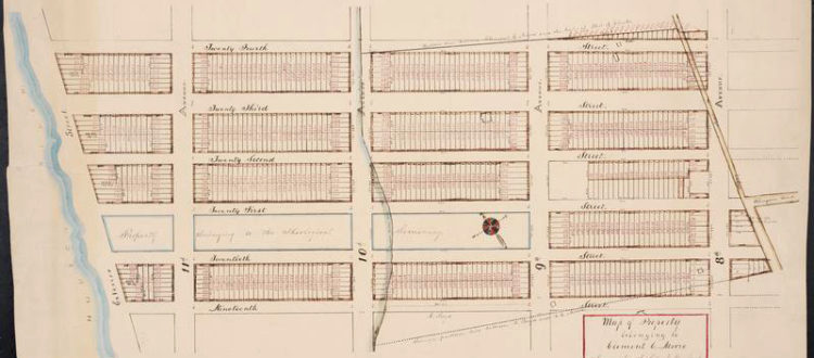 Chelsea Manhattan Map Old-fashioned