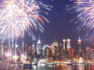 Fireworks NYC July 4th 2017