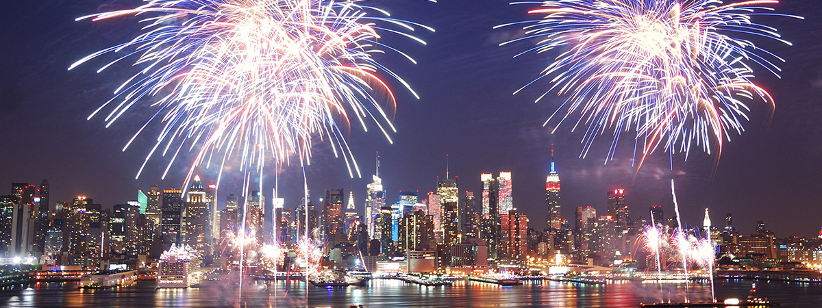 Best places to watch fireworks in nyc 4th of july 2017 for The best of nyc