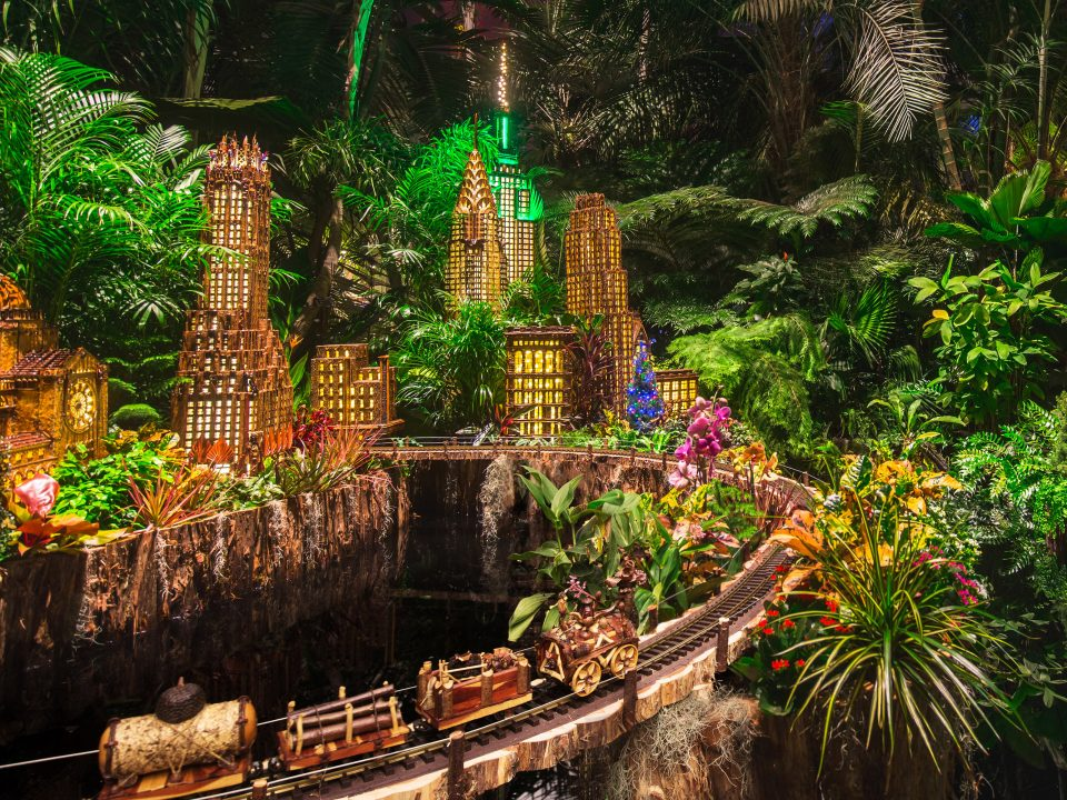 Christmas in NYC Holiday Train Show NYBG