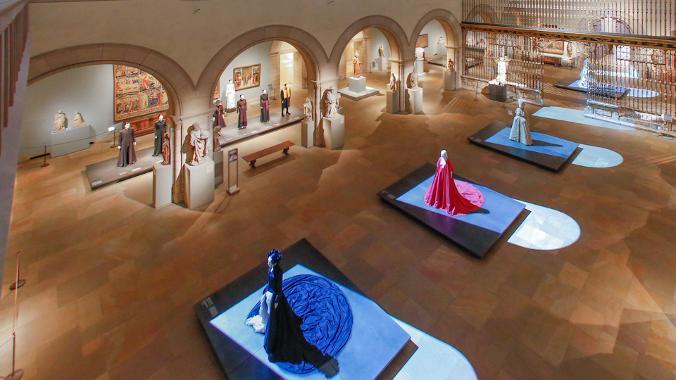 catholic fashion exhibit met museum art
