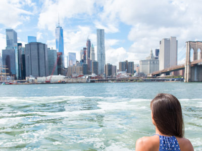 Image of the NYC Skyline to Encourage Visitors to Visit NYC