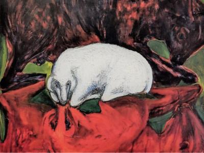 Yale Divinity School Displays Charlotte Lichtblau painting