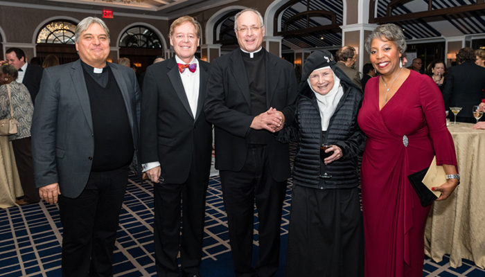 Notable guests at The Pope Leo XIII Award Fundraising Dinner Gala 2019