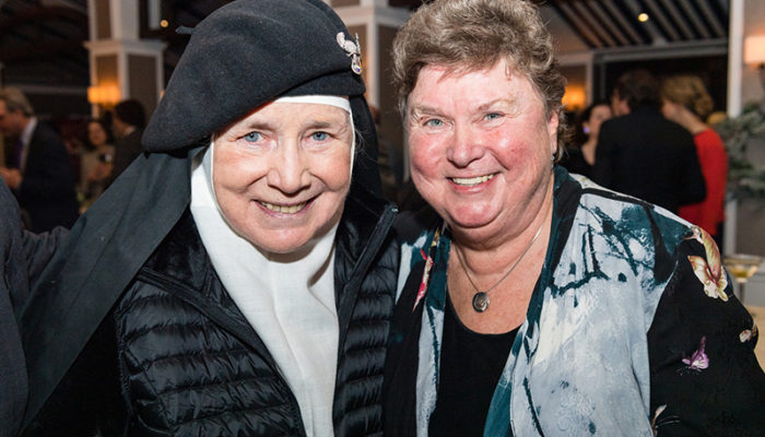 Mother Dolores Hart, OSB., Recipient of the Pope Leo XIII Award 2019