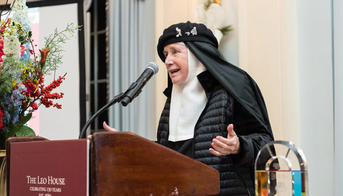 Mother Dolores Hart, O.S.B., The Abbey of Regina Laudis (Pope Leo XIII Award recipient)
