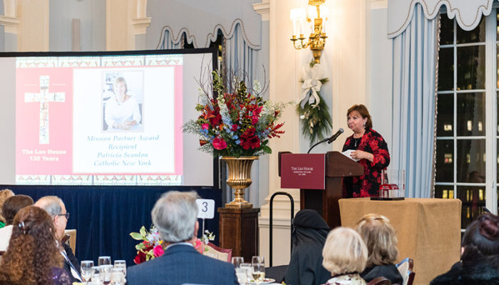 Patricia Scanlon, Catholic New York (Mission Partner Award recipient)