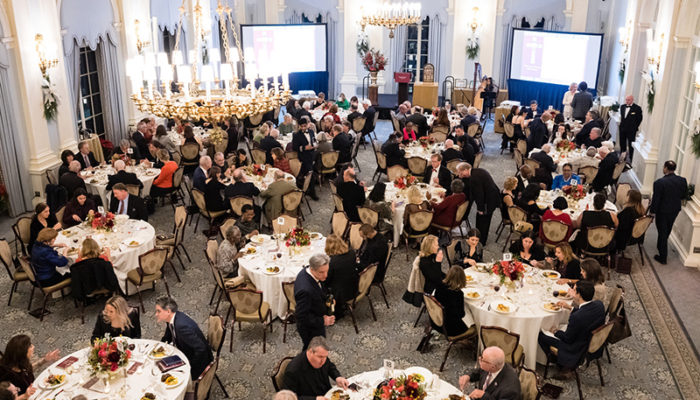 The Yale Club - Featuring The Pope Leo XIII Award Fundraising Dinner Gala in 2019 by The Leo House