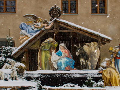 A Thrill of Hope Christmas Nativity Scene