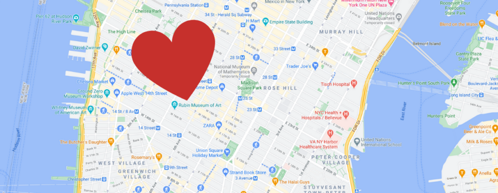 Heart in NYC
